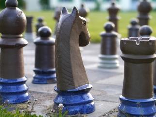Kärlek är som schack...