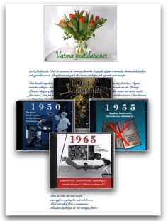 Köp tal + minnesbox till 50 år