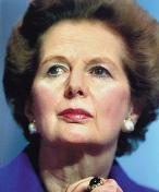 Thatcher jobbade med att sänka röstläge för öka sin pondus i offentliga tal.