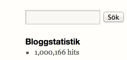 Blogg statistik