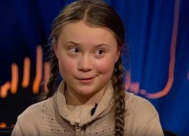 Greta Thunberg hos Skavlan